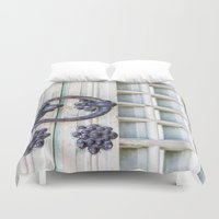 korean Duvet Covers featuring Korean Palace Doors II by Jennifer Stinson