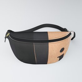 Shades of black Fanny Pack
