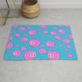 When Pigs Fly, Or Float! Rug