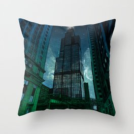 On the Shoulders of Giants Throw Pillow