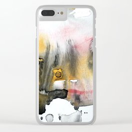 Contained Clear iPhone Case