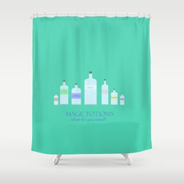Magic potions Shower Curtain