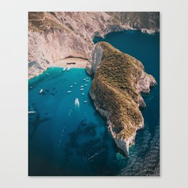 What does paradise look like? Canvas Print