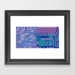 tcanvasmosh18x2a Framed Art Print