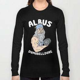 albus dumbbelldore lifting gym Long Sleeve T-shirt