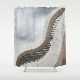 Getty Center Shower Curtain