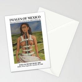 "Frida Kahlo Exhibition Art Poster - ""The Broken Column"" 1988 Stationery Cards"