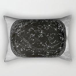 Antique Map of the Night Sky Rectangular Pillow