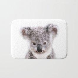 Baby Koala, Baby Animals Art Print By Synplus Bath Mat
