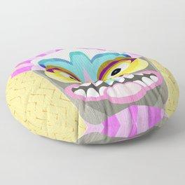 Aloha Tiki Mask Floor Pillow