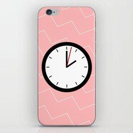#33 Clock iPhone Skin