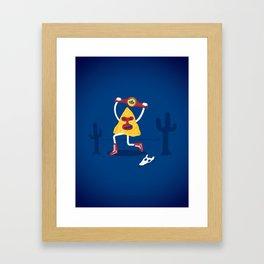Nacho! Framed Art Print