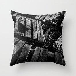 Crumbled Throw Pillow
