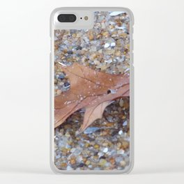 Never far Away Clear iPhone Case