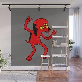 Satan's Little Helper Wall Mural