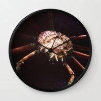 pivot Wall Clocks featuring Pivot Pincers by Pan Kelvin