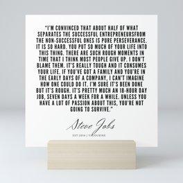 9       Steve Jobs Quotes   190720 Mini Art Print