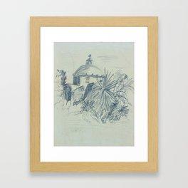 Church - Pencil Framed Art Print