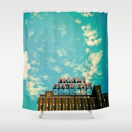 Farine Five Roses Shower Curtain