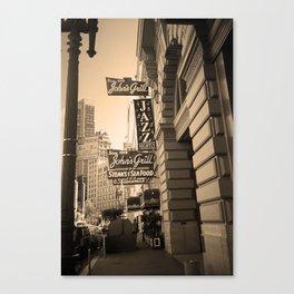 San Francisco Street 2007 Canvas Print