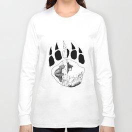 Bear Claw Long Sleeve T-shirt