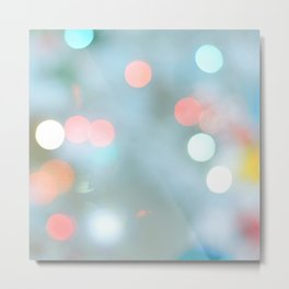BLURRY DEFOCUSED LIGHTS II Metal Print