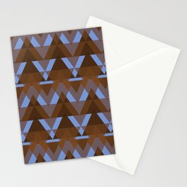 Geometric - Earth and Water Stationery Cards