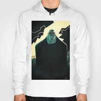 frankenstein Hoodies featuring Frankenstein by Annalisa Leoni