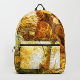 Golden branch Backpack