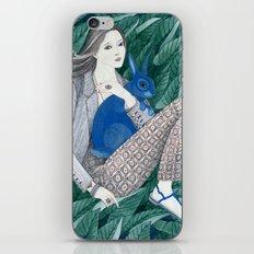 Blue Bunny iPhone Skin