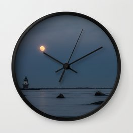 Course of Moonlight Wall Clock