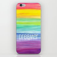dreamer iPhone & iPod Skins featuring Dreamer by micklyn