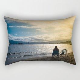 SUNSET IN COLORS Rectangular Pillow