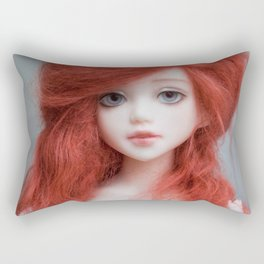 Ginger doll Rectangular Pillow