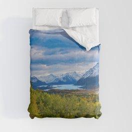 Matanuska_Glacier, Alaska - Autumn Comforters