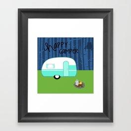 Happy Camper Framed Art Print
