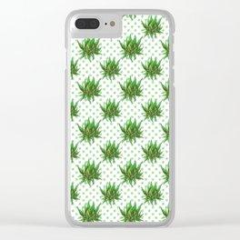 Succulent plant Clear iPhone Case