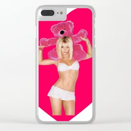 Britney Spears Clear iPhone Case