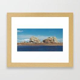 Big Rock Framed Art Print