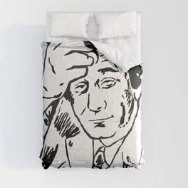 Lieutenant Columbo Portrait Comforters