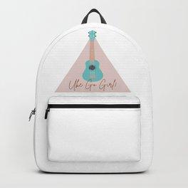 Uke Go Girl! Ukulele  Backpack