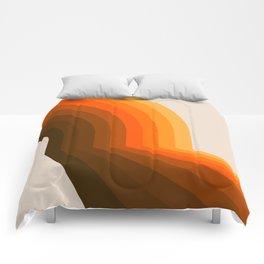 Golden Halfbow Comforters
