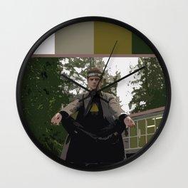 David Haller (Color Swatch) 2 Wall Clock