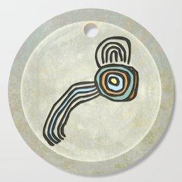 Tribal Maps - Magical Mazes #01 Cutting Board