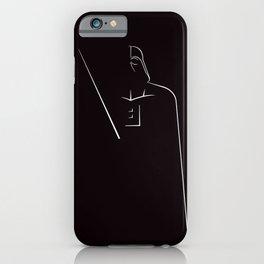 DARTH VADOR iPhone Case