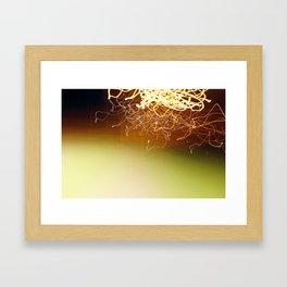 Event 6 Framed Art Print