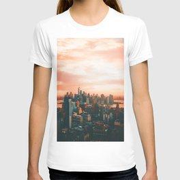 Sunset City (Color) T-shirt