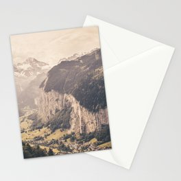 Lauterbrunnen Switzerland Landscape Stationery Cards