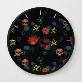 Black Magic Wall Clock
