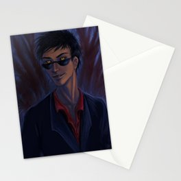 Good Omens: Crowley Stationery Cards